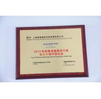2013年按摩保健器具行业出口十强中国企业
